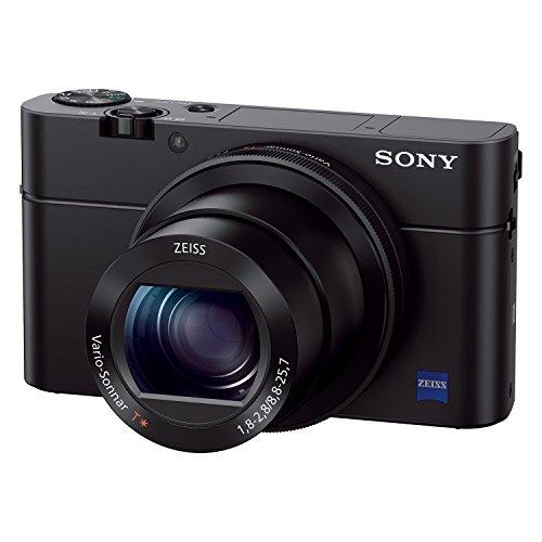 Sony DSC-RX100M3 Cámara Digital Premium Cyber-Shot de 20mp con zoom óptico 2.9x con F1.8-2.8, con Visor Electrónico - VendeTodito