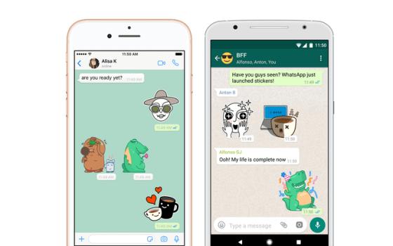 WhatsApp finalmente está agregando pegatinas