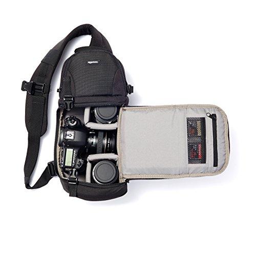 AmazonBasics Bolsa para cámara, uso cruzado - VendeTodito