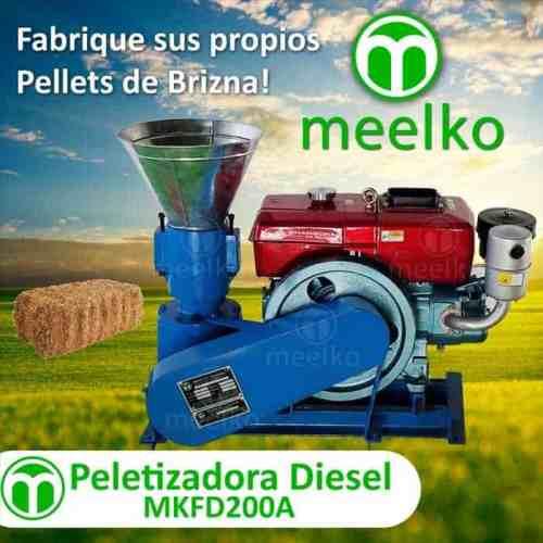 2. Peletizadora-Diesel-Brizna