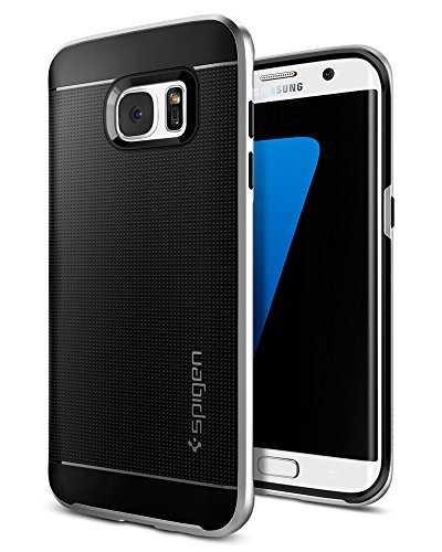 Spigen 556CS20144 Funda Neo Hybrid para Samsung Galaxy S7 Edge, Color Plata - VendeTodito