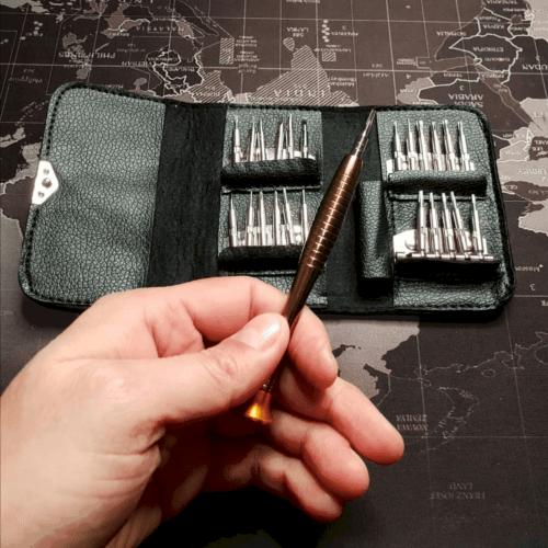25 in 1 Precision Screwdriver Set, FREEWISE DIY Mini Repair Tool Kit