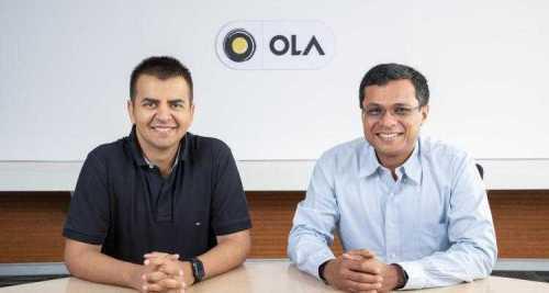El cofundador de Flipkart, Sachin Bansal, invierte $ 92 millones en Ola