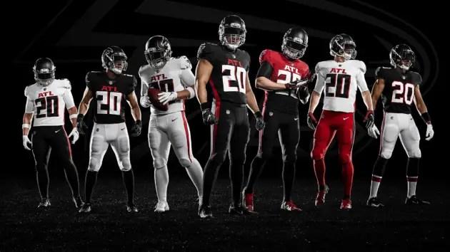 Falcons New Uniforms