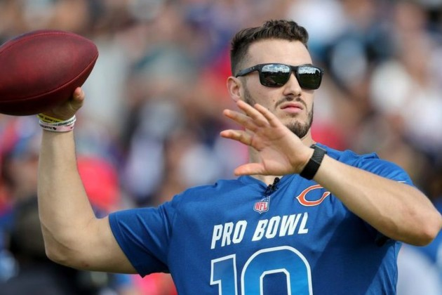 Trubisky thinks the bears are his team