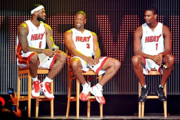 LeBron Heat Teams
