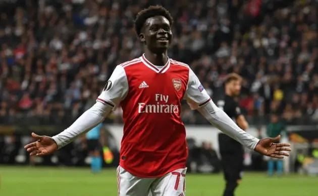Saka Youngest Arsenal Graduate to Score