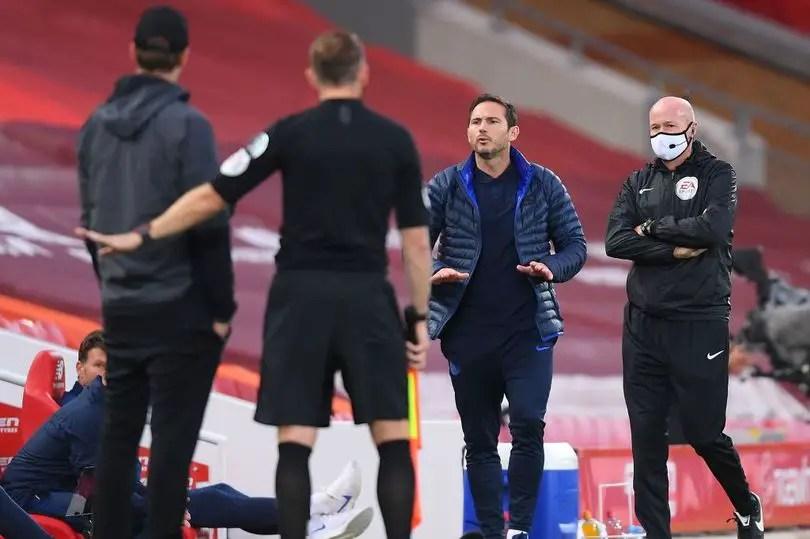 Jurgen Klopp and Frank Lampard