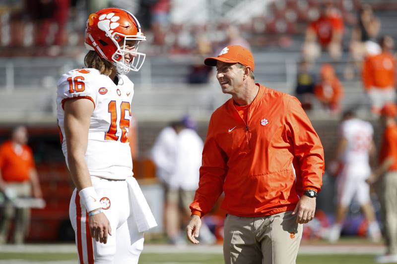 Dabo Swinney Trevor Lawrence