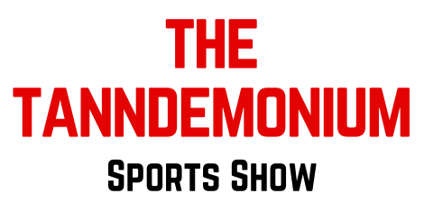 The Logo for the Tanndemonium Sports Show with Bryan Tann and Jackson Law from Vendetta Sports