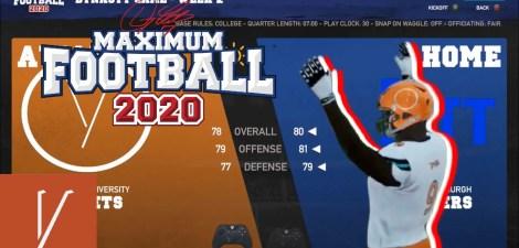 Maximum Football 20