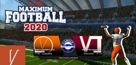 Maximum Football 20 College Dynasty