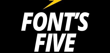 Fonts Five