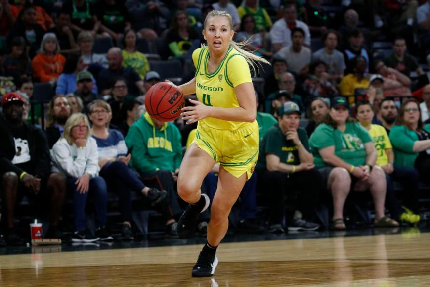 Oregon Ducks womens