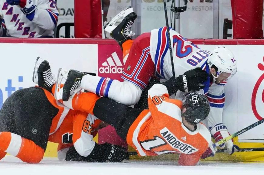 Rangers 3, Flyers 2 (SO)