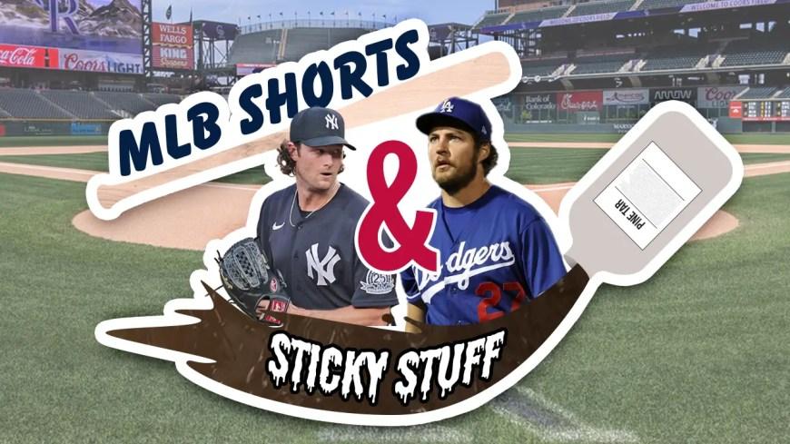 MLB Shorts Sticky Stuff