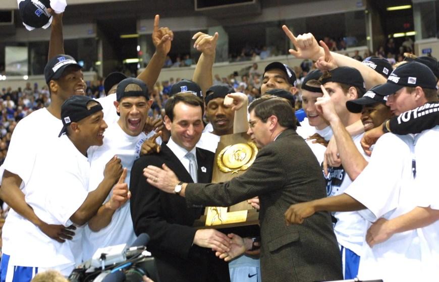 Coach K Duke