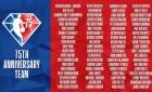 NBA Top 75 List