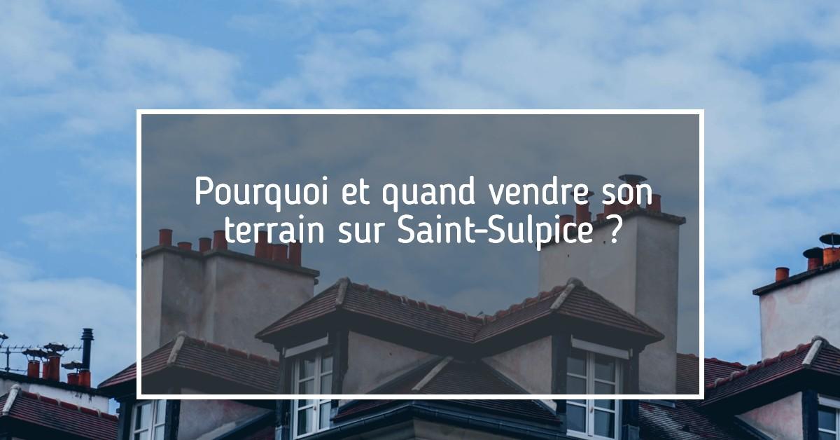 Vente terrain Saint-Sulpice