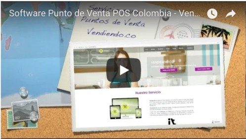 Vendiendo Software Punto de Venta POS
