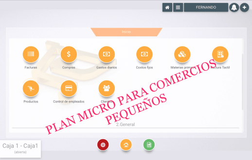 Plan Micro Software Punto de Venta POS
