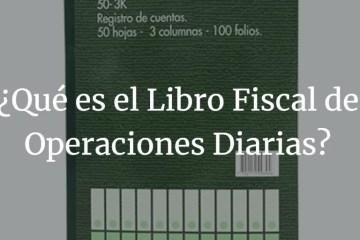 Libro Fiscal Diario