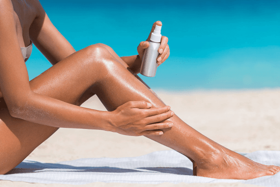 Evitar daños en la piel por el sol