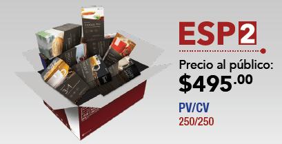 Paquete ESP2 Gano Excel USA