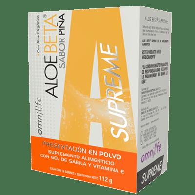 aloe beta piña supreme productos omnilife mexico