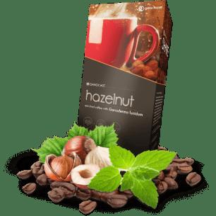 Ganocafe hazelnut café con ganofderma