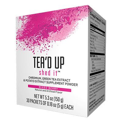 tea'd up shed it mixed berry catalogo de productos omnilife usa
