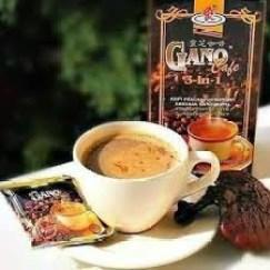 Café y chocolate con ganoderma de Gano Excel para tratar el acné