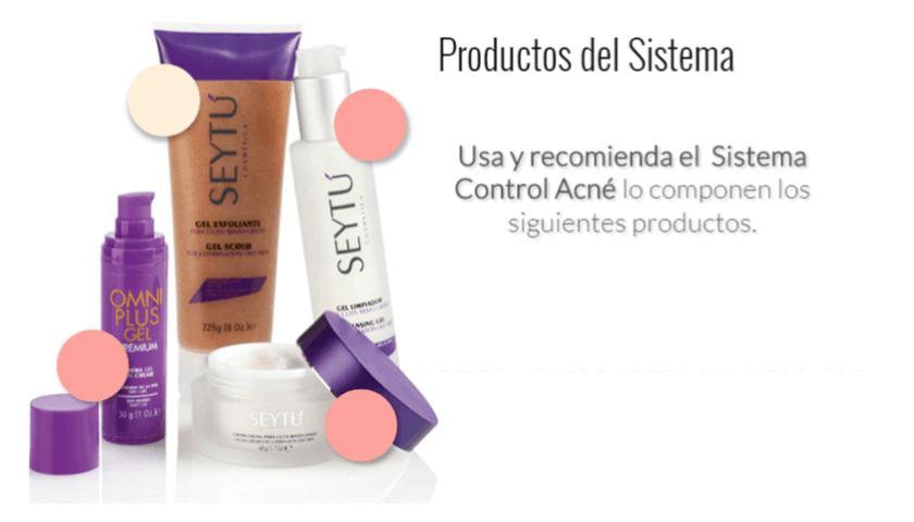4. productos anti acne seytu