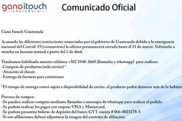 Contingencia Gano iTouch Guatemala (1)