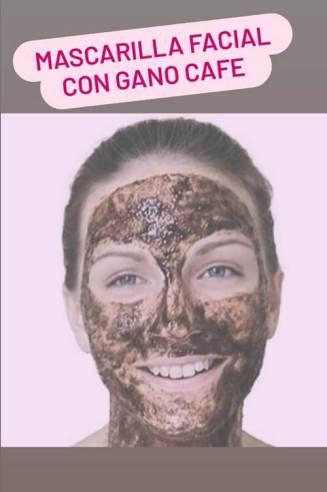 Mascarilla facial con Gano Café y Ganoderma