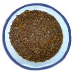 Lenticchia di Castelluccio di Norcia, ricetta tipica