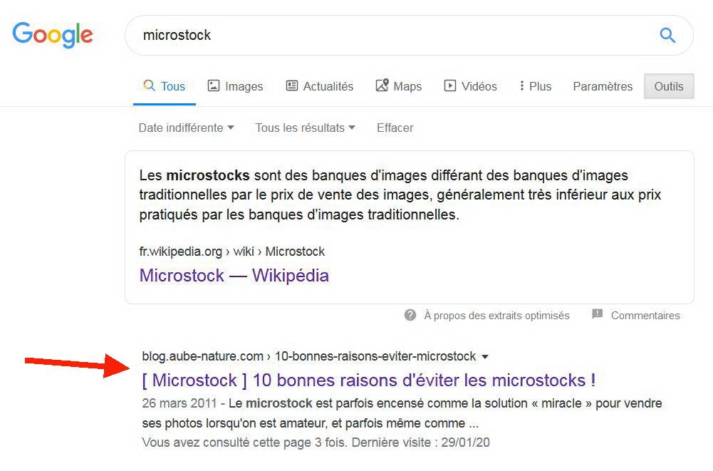Article Aube Nature contre les microstocks | Vendre ses photos en ligne
