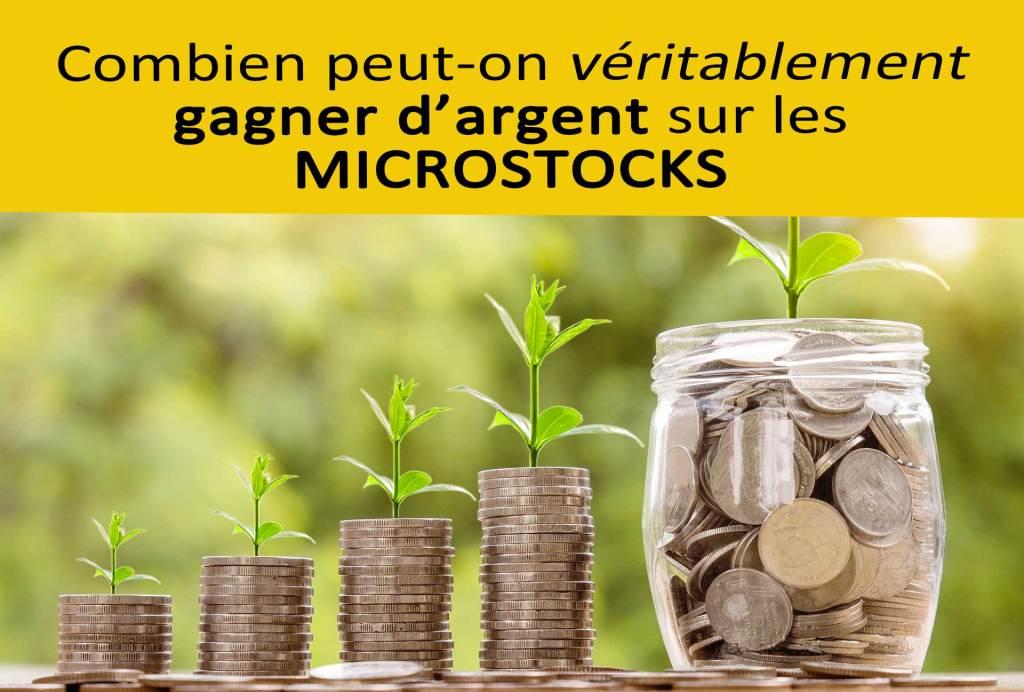 Combien gagner sur les microstocks | Vendre ses photos en ligne