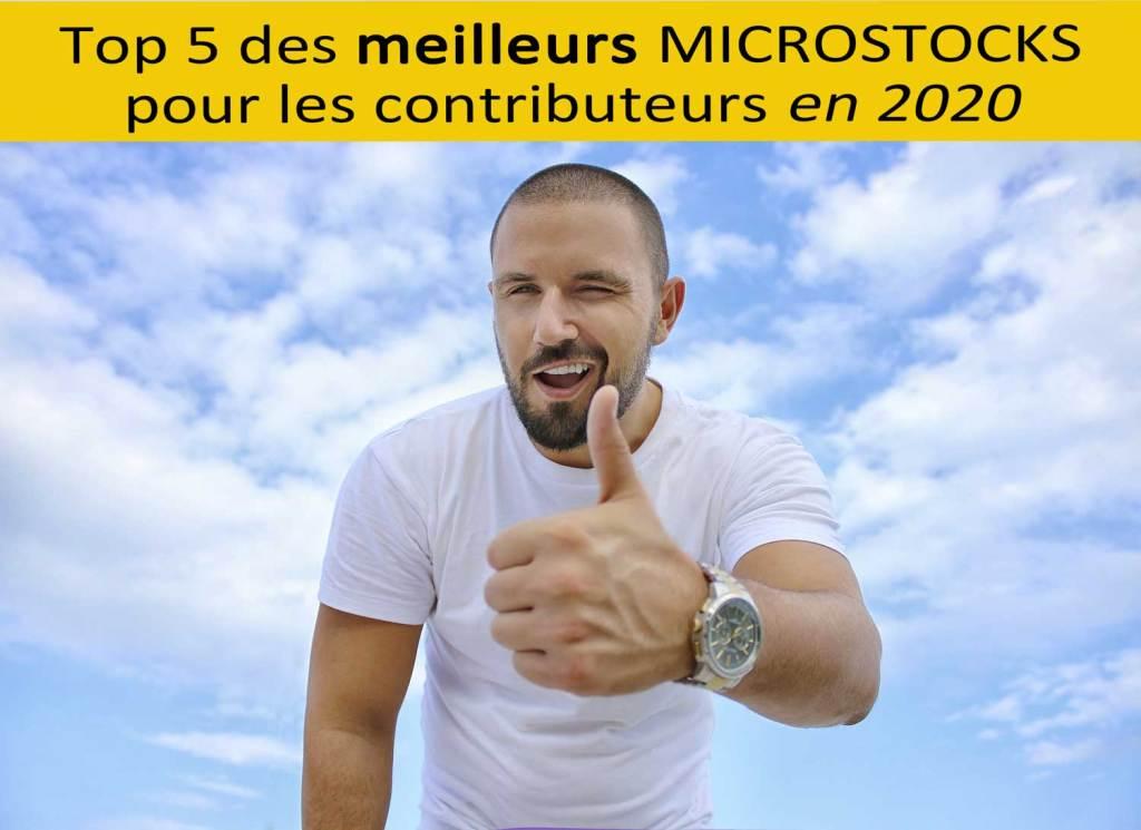 Top 5 des meilleurs microstocks pour les contributeurs en 2020 | Vendre ses photos en ligne
