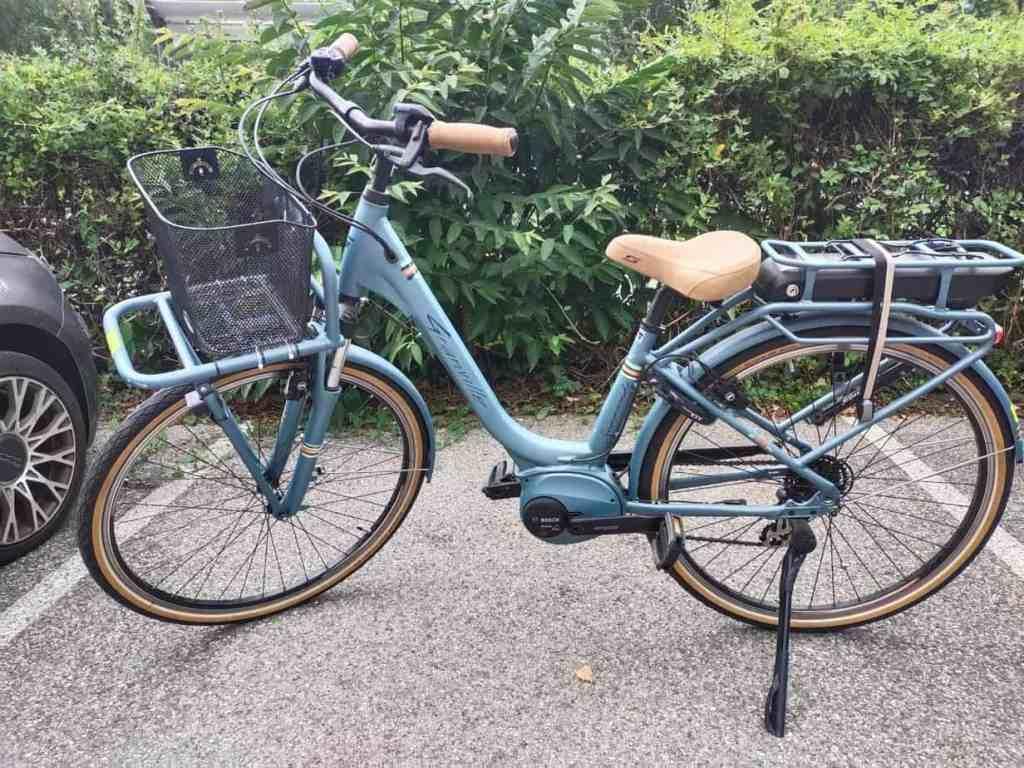 Vélo électrique de ville pour femme VAE GRANVILLE E-SUMMERSIDE occasion 2019