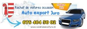 Rachat de véhicules occasions pour export à Jura