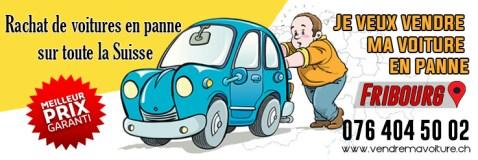 Rachat de voiture en panne à Fribourg