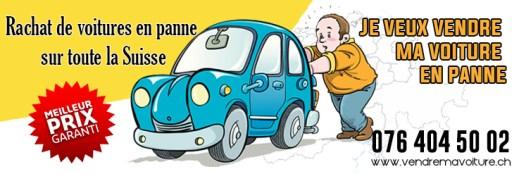 Rachat de voiture en panne en Suisse