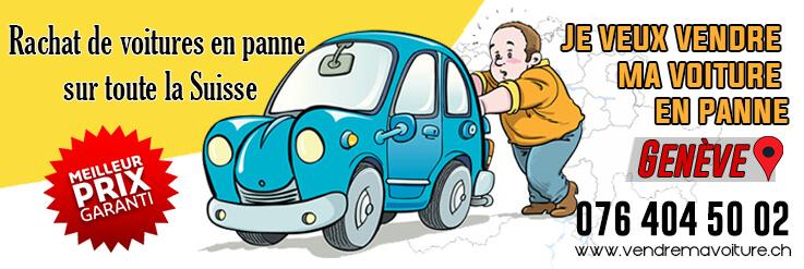 Rachat voiture en panne à Genève