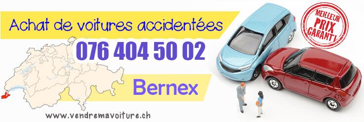 Vendre sa voiture accidentée à Bernex