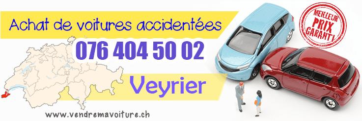 Vendre sa voiture accidentée à Veyrier