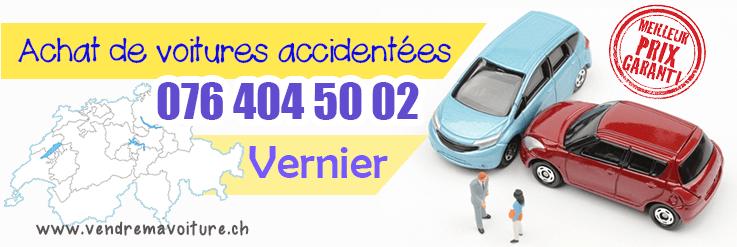Vendre sa voiture accidentée à Vernier