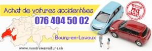 Vendre sa voiture accidentée à Bourg-en-Lavaux