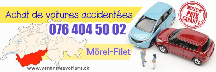 Vendre sa voiture accidentée à Mörel-Filet