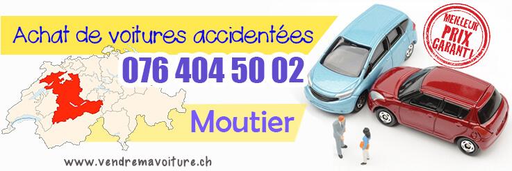 Vendre sa voiture accidentée à Moutier